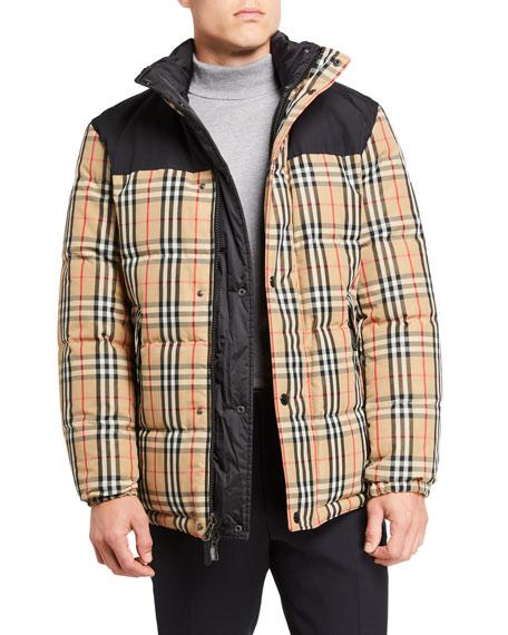 Men's Reversible Puffer Coat