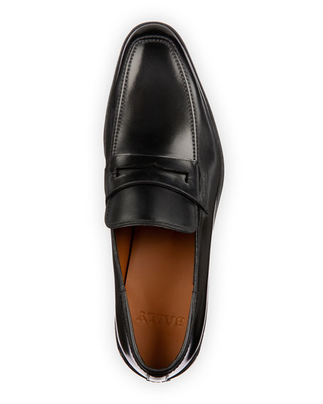 Men's Relon Leather Penny Loafers