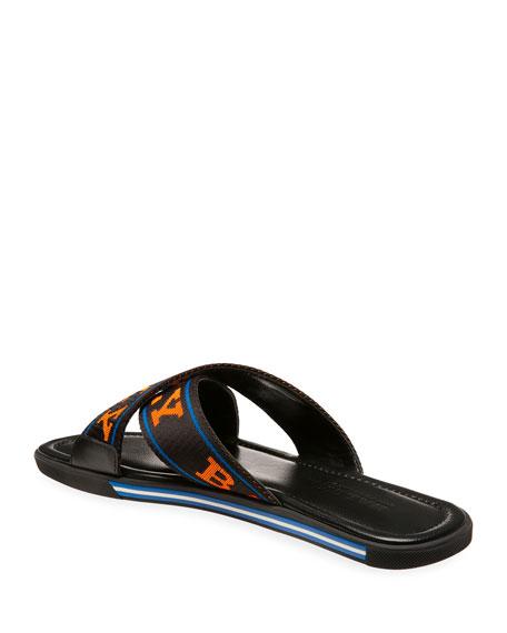 Men's Bonks Logo-Web Slide Sandals