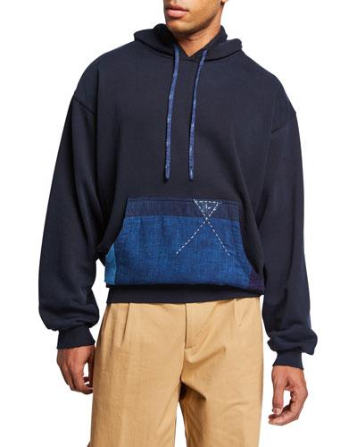 Men's Boro Pocket Pullover Hoodie