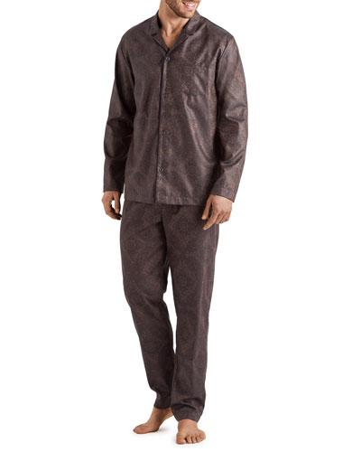 Men's Select Paisley Medallion Cotton Pajama Set