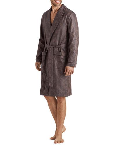 Men's Select Paisley Medallion Cotton Robe