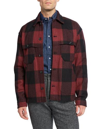 Men's Buffalo Stag Over Shirt