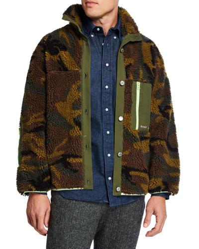 Men's Rory Camo Fleece Jacket