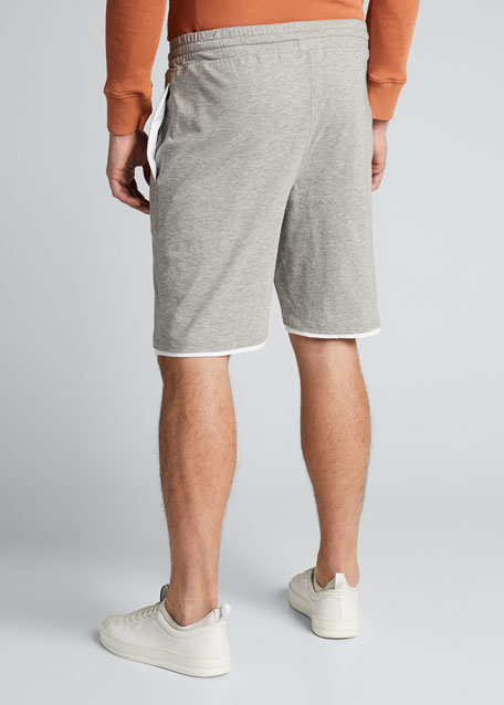 Men's Double-Layer Drawstring Shorts