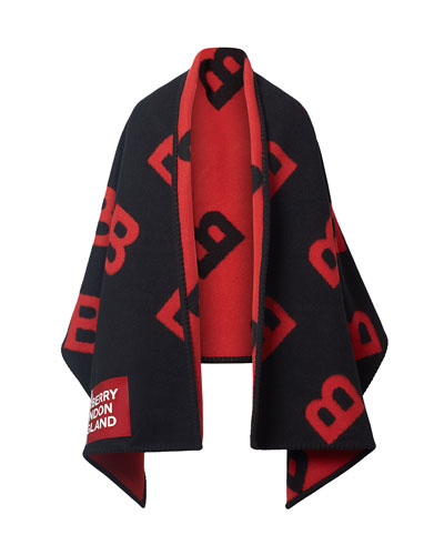Men's Rotated B Shawl with BLE Patch