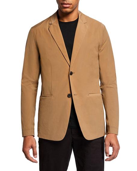 Men's Euclid Paper Nylon Two-Button Packable Jacket