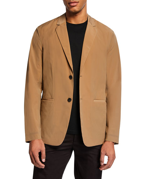 Image 1 of 1: Men's Euclid Paper Nylon Two-Button Packable Jacket