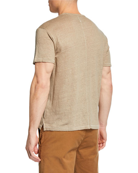 Men's Owen Linen Pocket T-Shirt