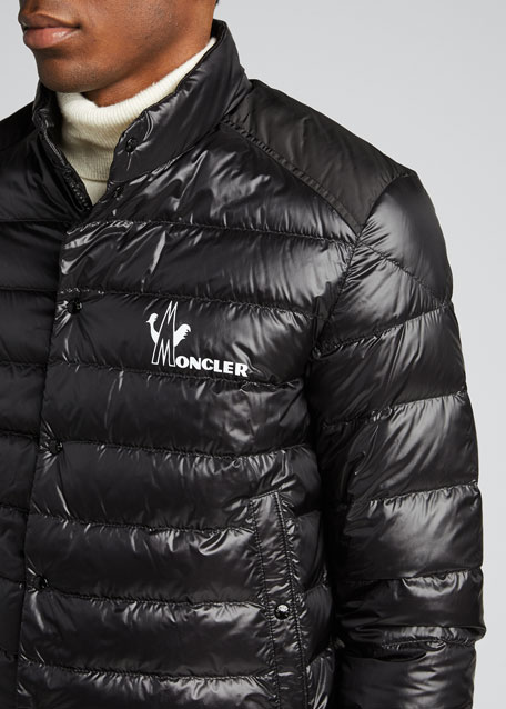 Men's Alton Snap-Front Puffer Coat
