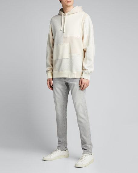 Men's Skinny Gray-Wash Jeans