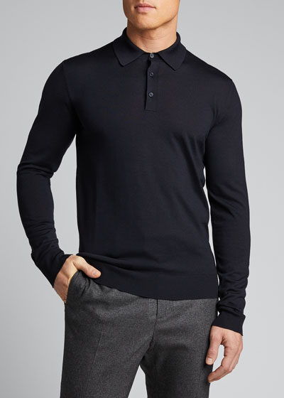 Men's Merino Wool Polo Shirt