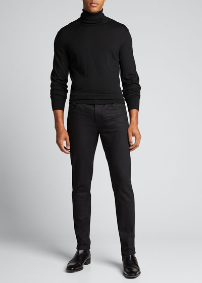 Men's 5-Pocket Skinny Stretch Jeans