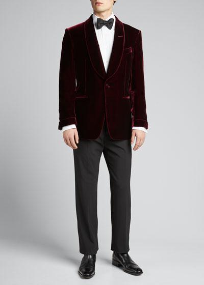 Men's Fluid Velvet Shelton Dinner Jacket