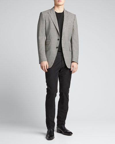 Men's O'Connor Fresco Damier Sport Jacket