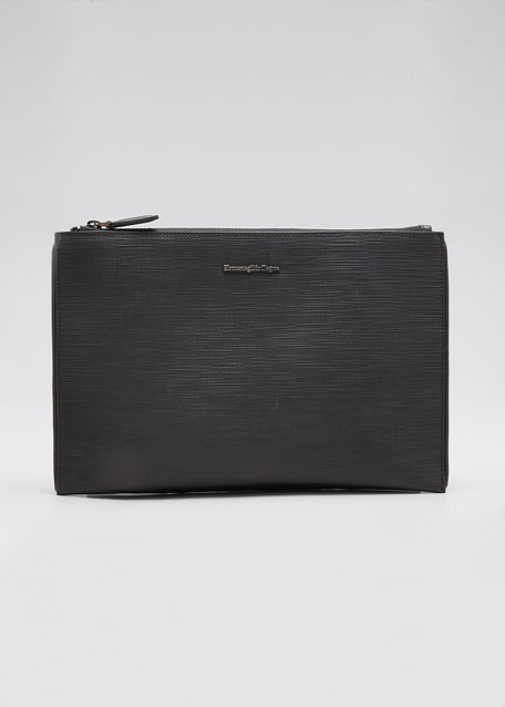 Men's Studio Leather Pouch