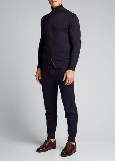 Men's Drawstring Jersey Track Pants