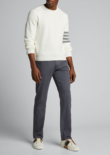 Image 1 of 1: Men's Milano-Stitch Crewneck Top
