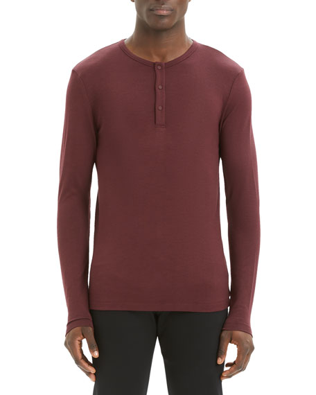 Men's Anemo Snap Henley T-Shirt