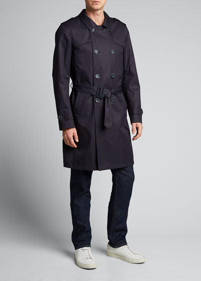 Men's Tech-Stretch Raincoat