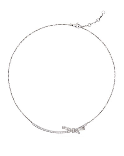 Ruban Couture Necklace with Diamonds