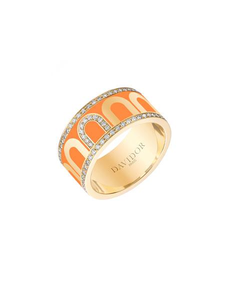 L'Arc de Davidor 18k Gold Porta Diamond Ring - Grand Model, Zeste, Sz. 6