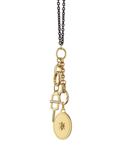 The Key to your Heart Charm Necklace