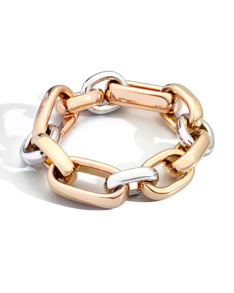 Iconica Tricolor 18k Gold Medium Bracelet