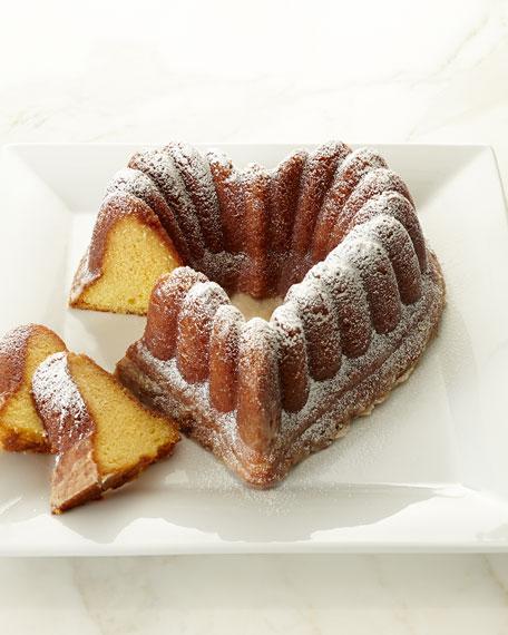 Heart-Shaped Rum Cake