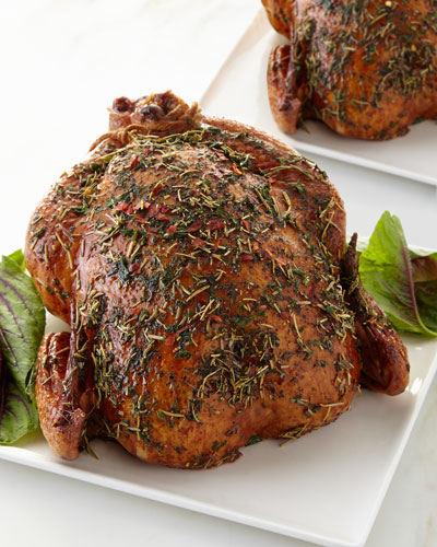 Herb Roasted Chickens  Set of 2
