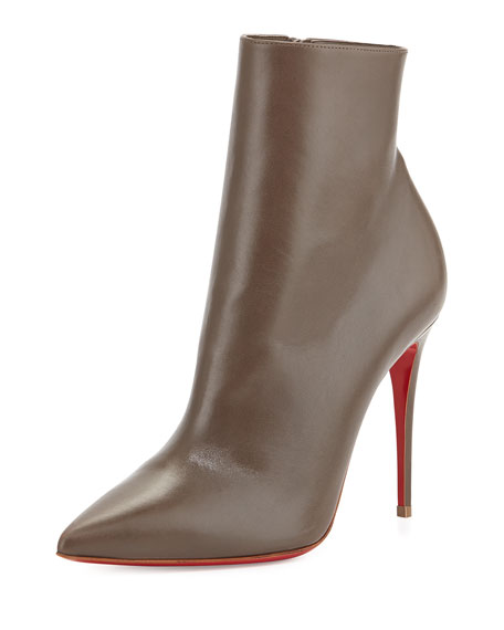 So Kate Booty Red Sole Ankle Boot, Gray