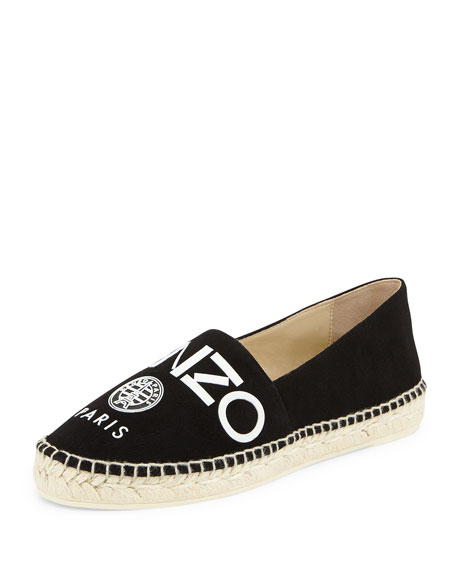 free shipping pictures clearance online official site Kenzo logo embossed espadrilles od0N7RmcXz