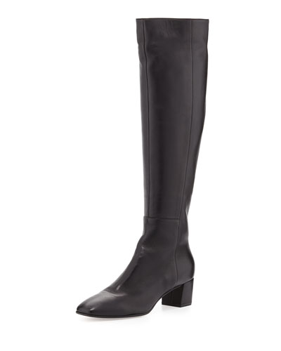 Napa Leather Knee Boot