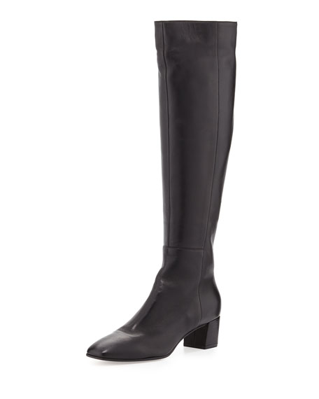 Gianvito Rossi Napa Leather Knee Boot