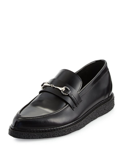 Sloan Leather Horsebit Creeper Loafer