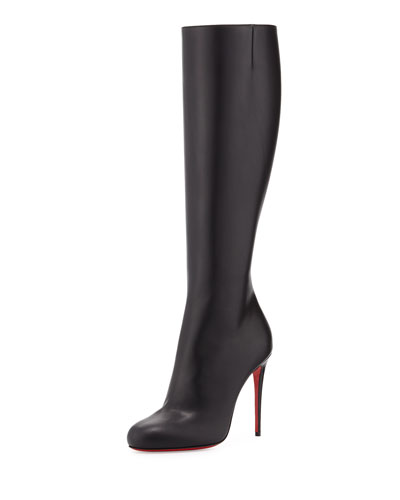 Fifibotta Smooth Leather Knee Boot