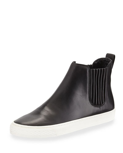 Crosby Leather High-Top Sneaker