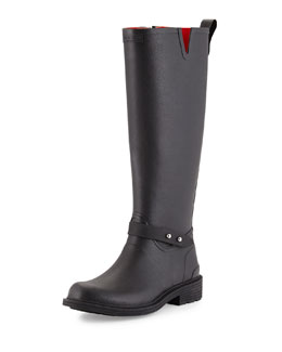 Rubber Riding Rainboot
