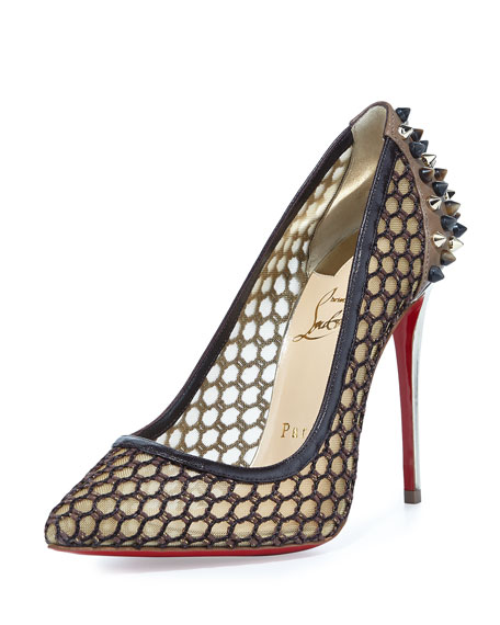Christian Louboutin Guni Knotted 120mm Red Sole Pump,
