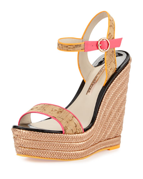 Lucita Colorblock Espadrille Sandals, Ipanema