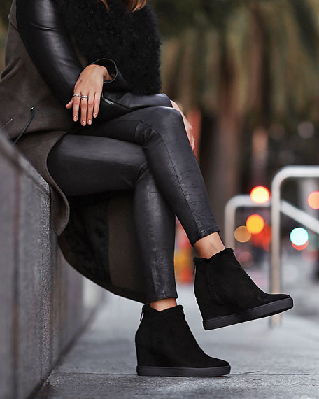 40a97c4b32b Charlie Faux-Fur Ankle Boot