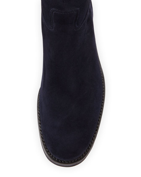 WATERPROOF SUEDE BOOT WITH B
