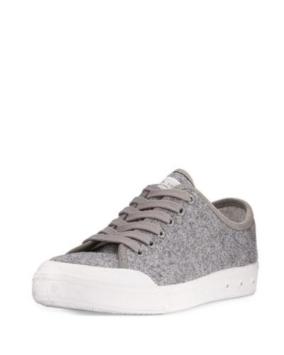 Standard Issue Wool Low-Top Sneaker, Gray