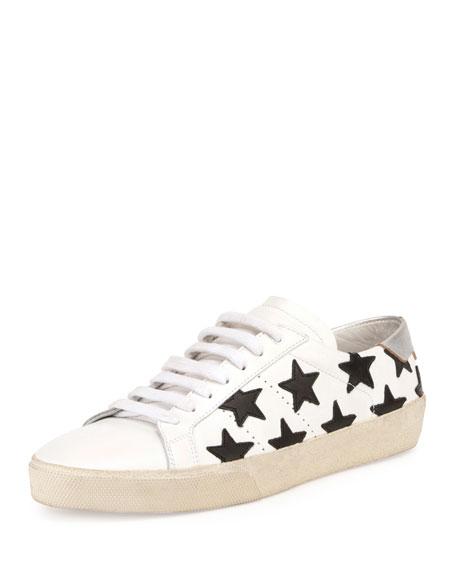 Court Classic Star-Print Sneaker, Multi