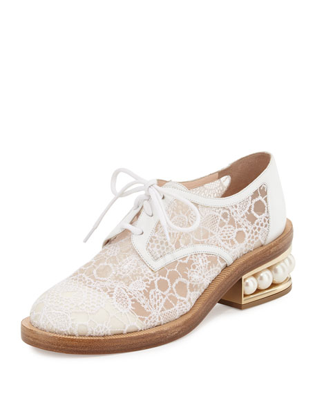 Casati Pearly Derby, White