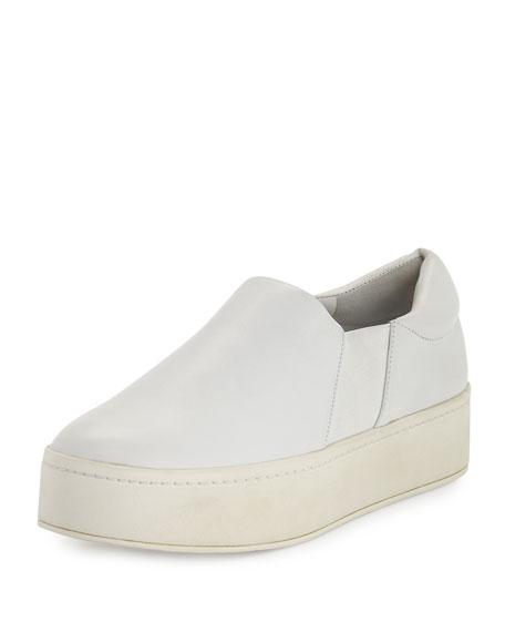 106a54c99408 Vince Warren Leather Platform Skate Sneaker