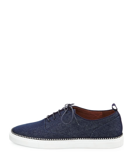 Tate Denim Low-Top Sneaker
