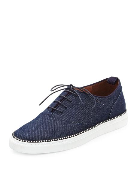 Tate Denim Low-Top Sneaker
