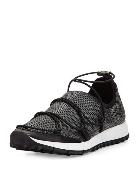 b0f5854deff Jimmy Choo Andrea Strappy Mesh Sneaker