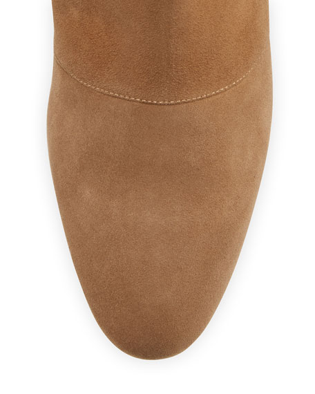 Tagnopla Seamed Suede Ankle Boot